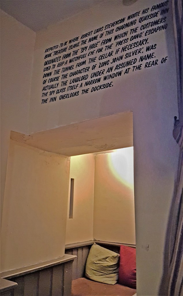Hole inthe Wall - quote and hole