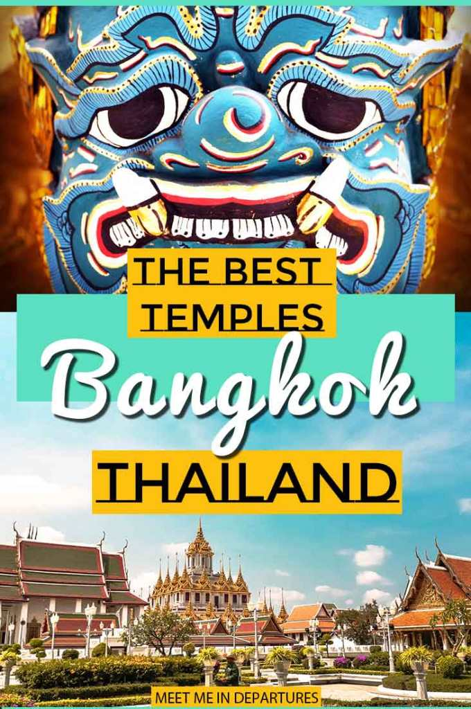 Best Temples In Bangkok - The 5 temples you need to visit while in Bangkok Buddhist Temples in Bangkok. #SEAsia #Temples #Bangkok #Thailand