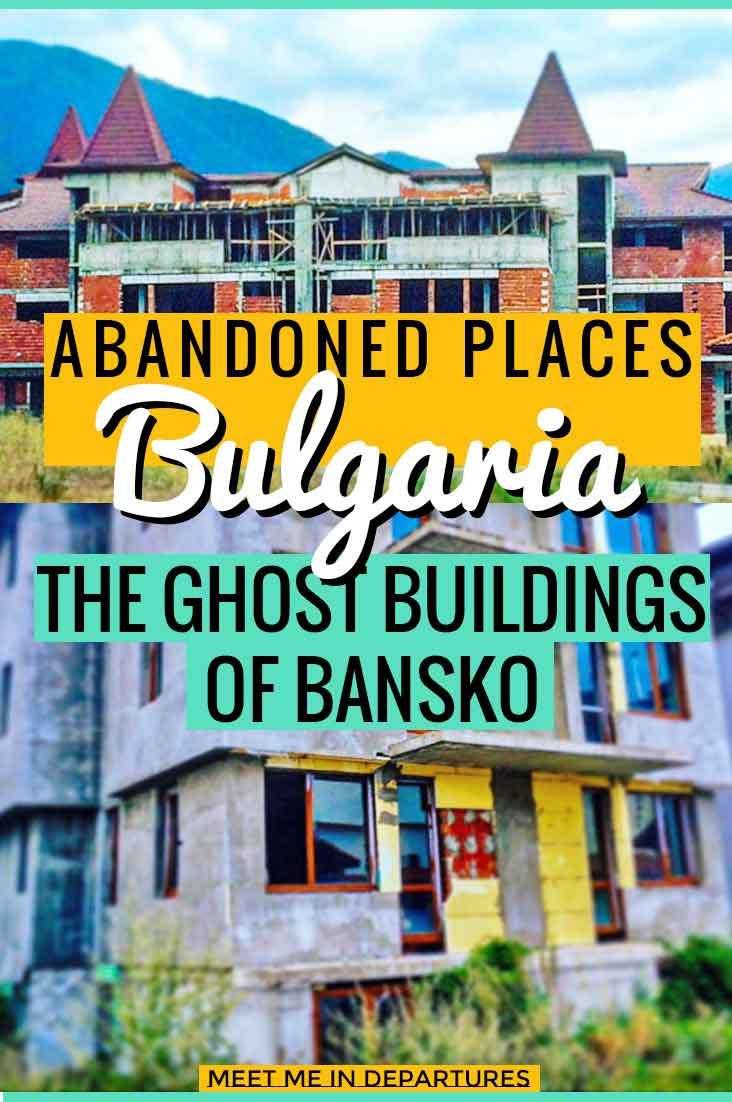 'Off-Beat Experts' - digging out the best of quirky, abandoned, dark-tourism, unusual or overlooked places around the globe. This edition talks about Abandoned Places in Bulgaria: The Ghost Buildings of Bansko #Bulgaria #AbandonedPlaces #DarkTourism #OffBeatTravel
