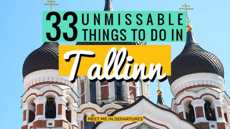 33 Unmissable Ideas for What To Do In Tallinn. The Beautiful Capital of Estonia. Listed as a UNESCO World Heritage Site. Find out 33 amazing things to do in Tallinn. Ideas for the perfect Tallinn Itinerary. What to see in Tallinn #Tallinn #Estonia #Ruins