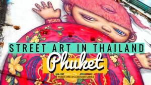 Stunning Murals & Beautiful Street Art in Phuket Old Town, Thailand