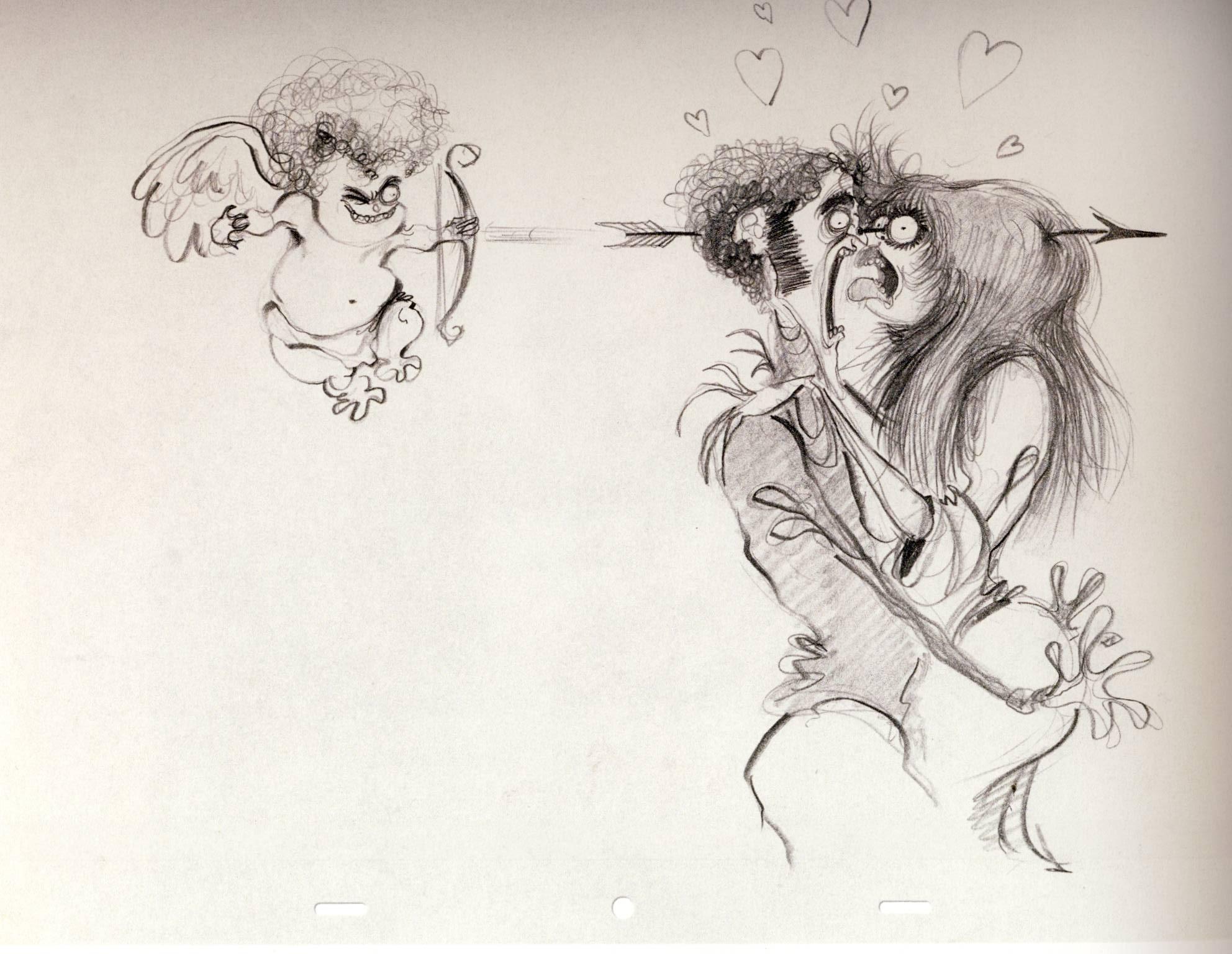 Tim Burton  in mostra il Re della creativit  Creazina