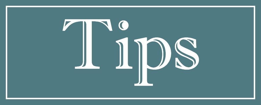post header Tips