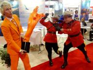 Mounties Canada Mr Holland IMEX America