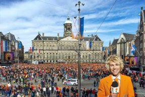 ... headed over to the Royal palace at Dam Square in Amsterdam for the official abdication ceremony. The documents were signed at 10:15! Now all anticipated for ...