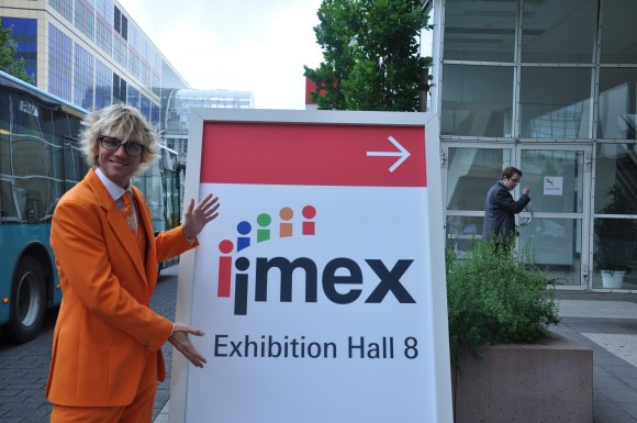 I´ve been waiting so long for this day. Finally we are at Messe Frankfurt.