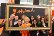 A big hug from the Netherlands Board of Tourism and Conventions for all the great people, who visited the Holland Booth.