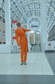The first trade show of the year: IMEX in Frankfurt.