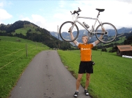I also made an exciting cycling tour through the Alps in Austria.