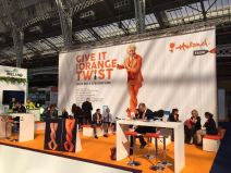 Golden hour at the Holland stand at The Meetings Show UK 2016
