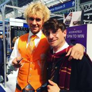 Mr Holland meets Mr. Potter at The Meetings Show UK 2016