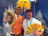 Mr Holland meets Mr Indonesia at The Meetings Show UK