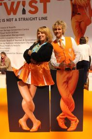 Orange Twist at The Meetings Show UK 2016