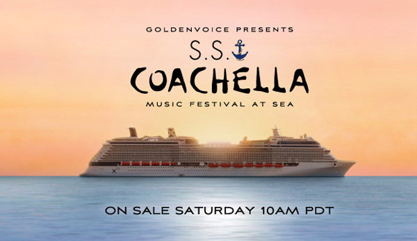 All Aboard: Coachella Announces Music Cruise With Pulp, Hot Chip, Sleigh Bells and 18 Other Acts