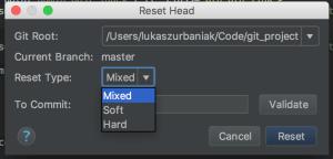 Git Reset HEAD