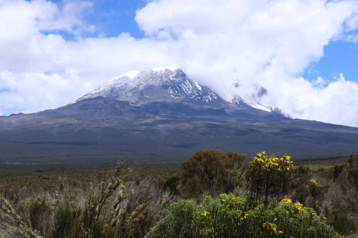 'Kibo' The story of Kilimanjaro's ice caps