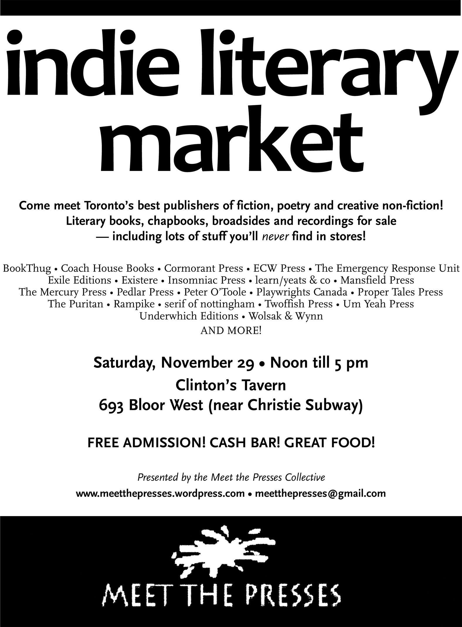 Indie Literary Market