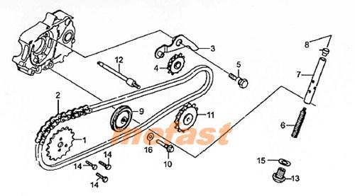 Wiring Diagram PDF: 110cc Engine Diagram