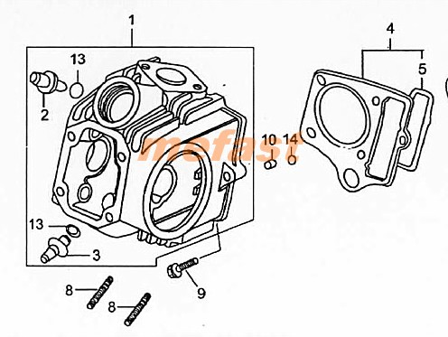 12 Valve Timing Cover, 12, Free Engine Image For User