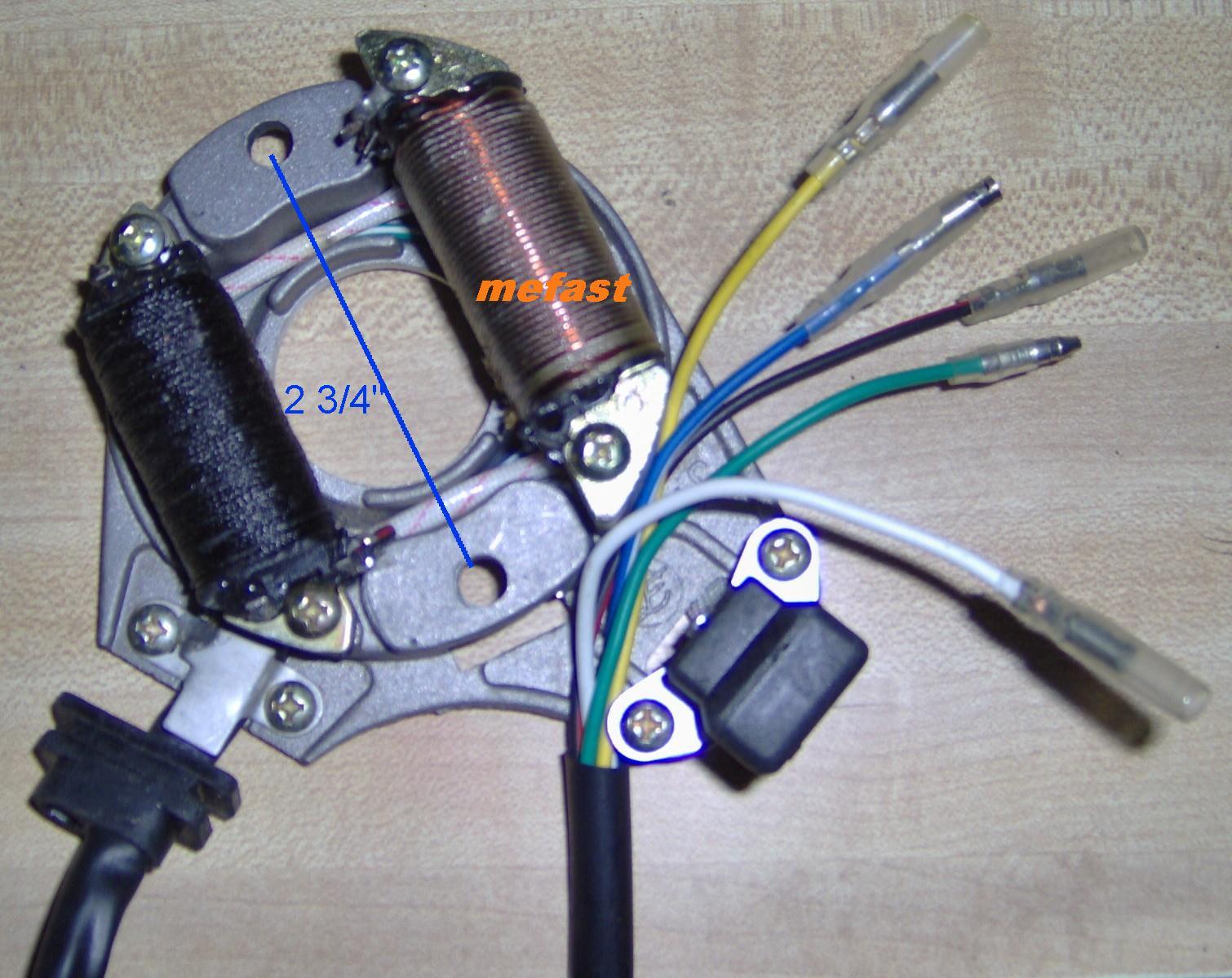 hight resolution of t2 magneto taotao t2 110cc stator 5 wire 5 wire stator wiring diagram 110cc stator wiring 4