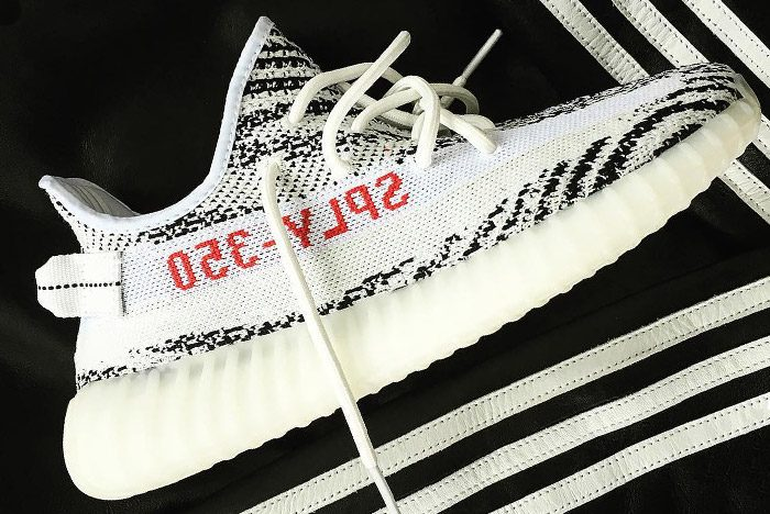 Kanye West's 'Zebra' Adidas Yeezy Boost 350 V2 Footwear News