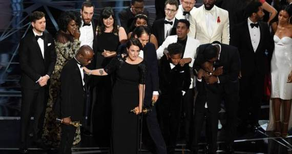 Moonlight Oscar win