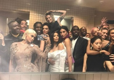 Met Gala Bathroom Pic