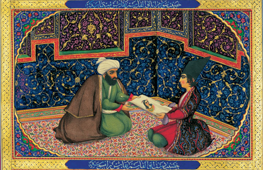 """Illustration from """"One Thousand and One Nights"""" 