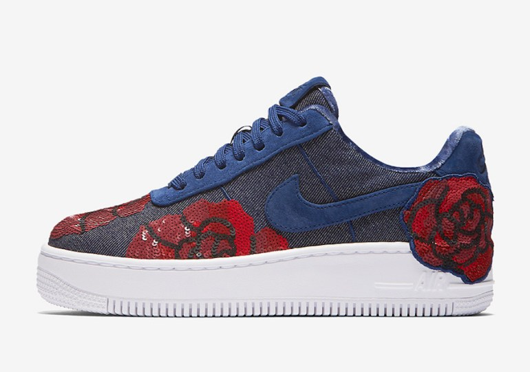 reputable site b8773 9e0a5 Nike Unveils Air Force 1 Low Floral Sequin Pack. Kaidian Gordon August 31,  2017 0 Floral