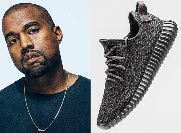 Kanye West Adidas marketplace number two spot sports footwear news fashion sneakers trainers collaboration