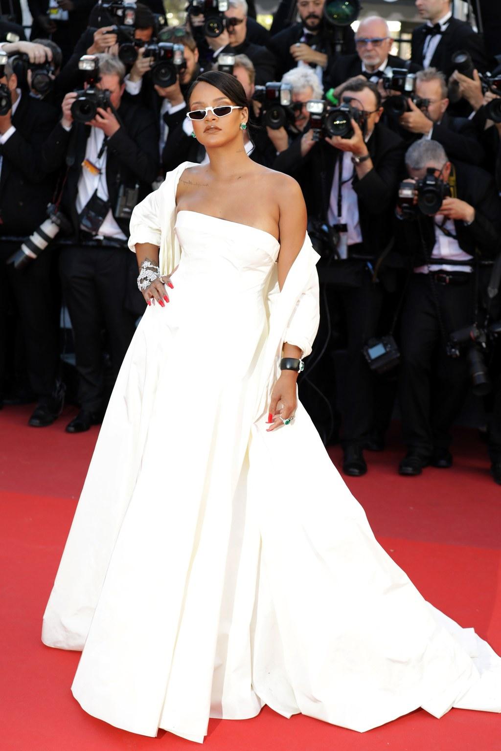 Rihanna at Cannes. Photo by Giulio Origlia
