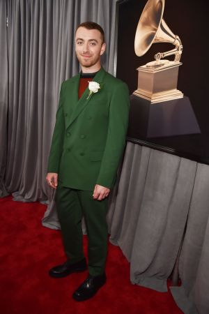 Sam Smith in Cerruti via Getty Images/Pinterest