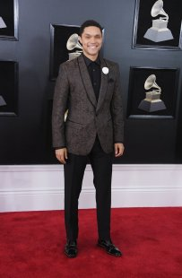 Trevor Noah at the GRAMMYS. Photo by Steve Granitz/Getty Images