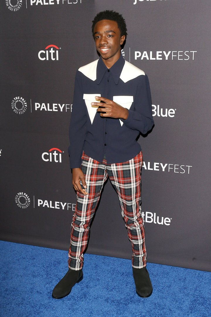 Caleb McLaughlin at Paleyfest in L.A. Photo by Michael Tran/FilmMagic