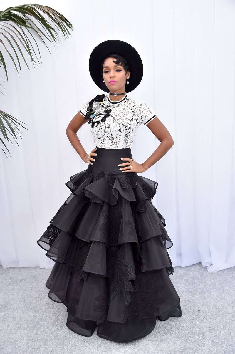 Janelle Monae by Kevin Mazur/Getty Images
