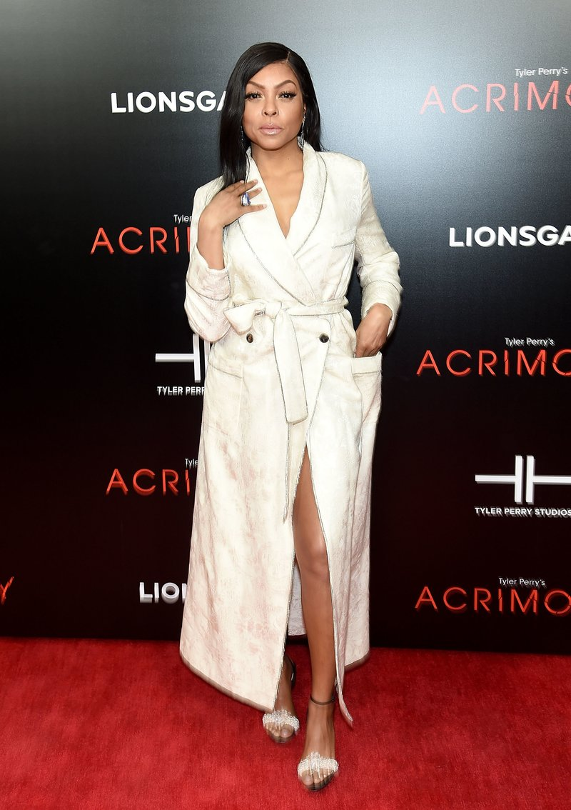 Taraji P. Henson at the Acrimony premiere. Photo by Jamie McCarthy/Getty Images