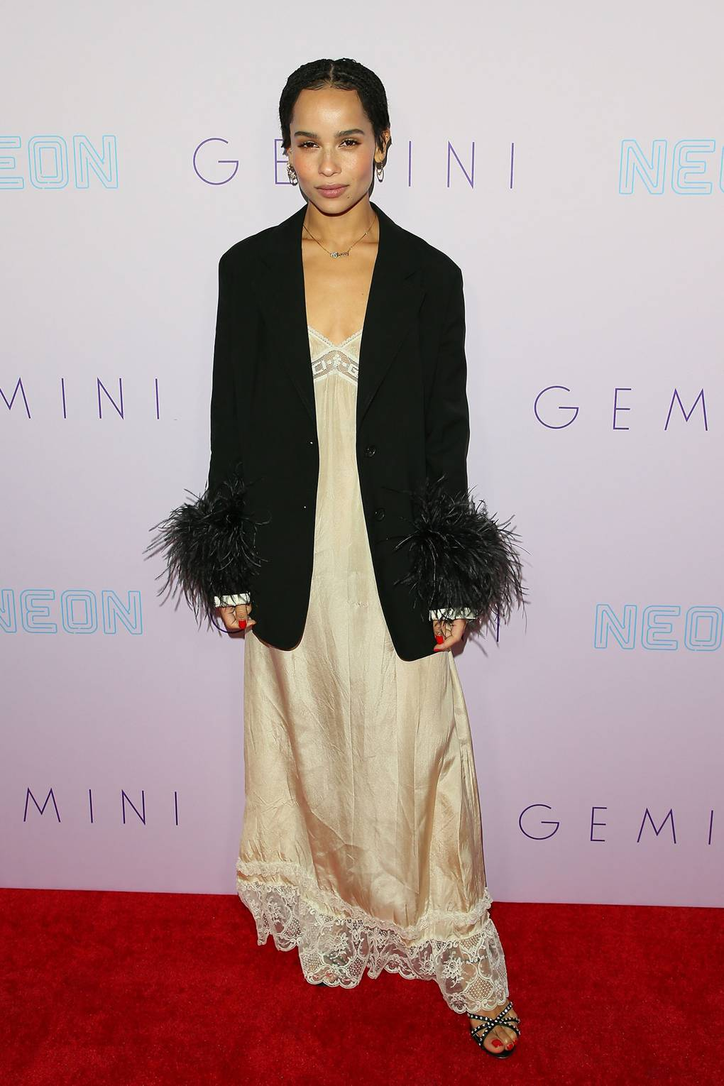 Zoë Kravitz in LA. Photo via Getty Images