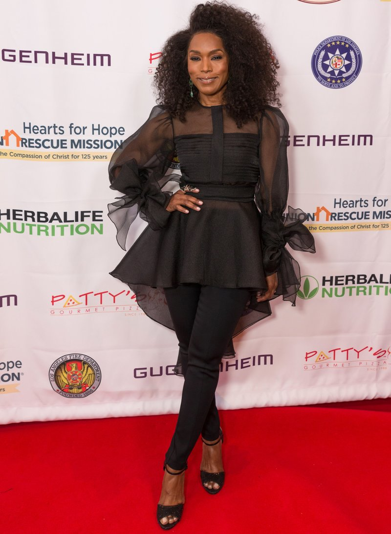 """Angela Bassett at the Hearts For Hope Gala """"Hope In Action"""" in Beverly Hills, California. Photo by Rochelle Brodin"""