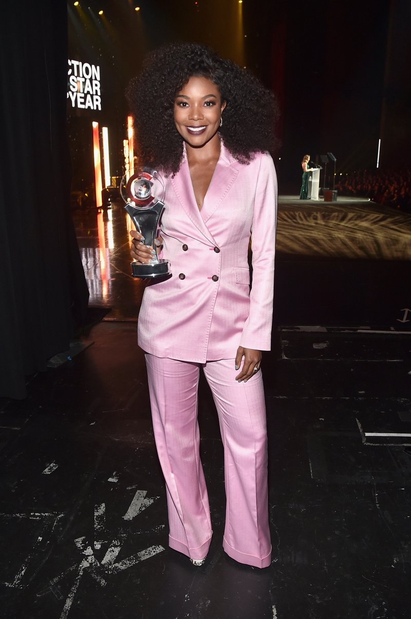 Gabrielle Union attended the CinemaCon Big Screen Achievement Awards in Las Vegas. Photo by Alberto E. Rodriguez/Getty Images for CinemaCon