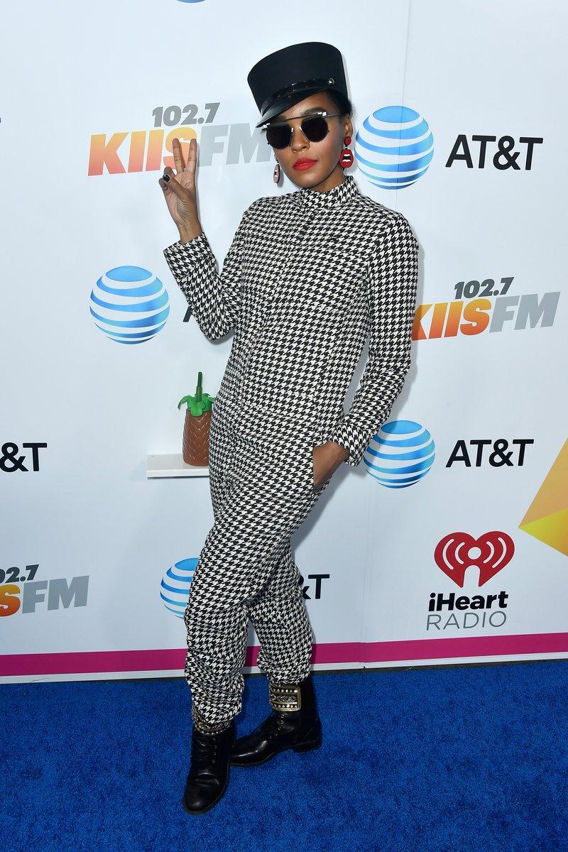Janelle Monae attends iHeartRadio's KIIS FM Wango Tango by AT&T in LA. Photo by Frazer Harrison/Getty Images