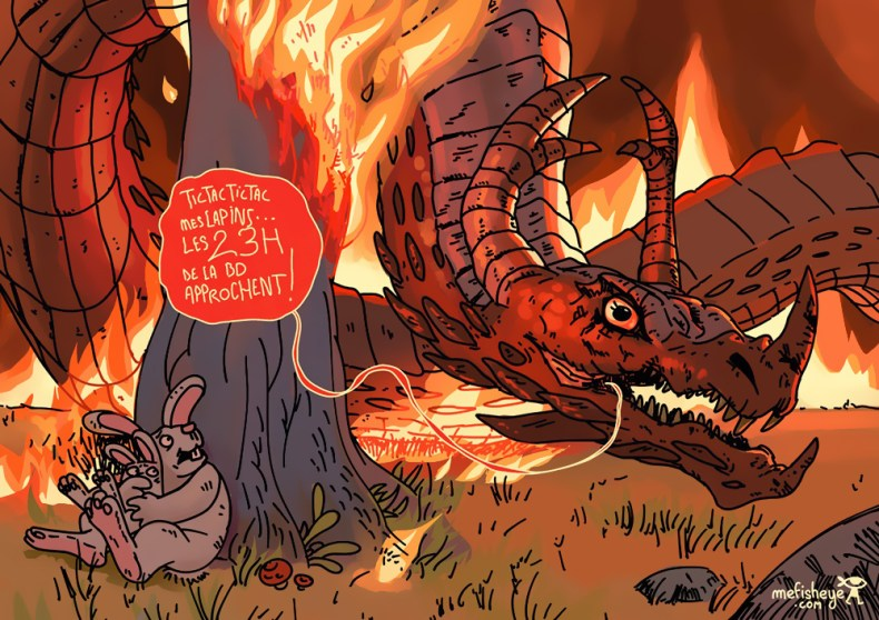 dessin dragon feu 23hbd