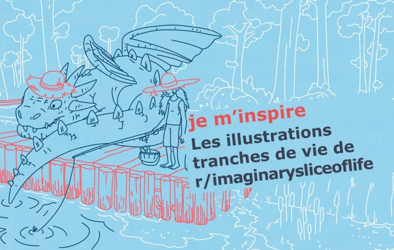illustration peche dragon