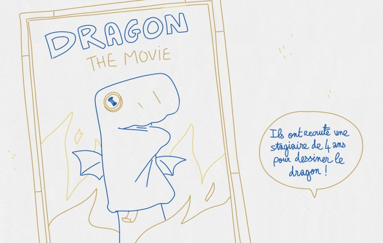 affiche dragon fantaisie jeunesse mefisheye