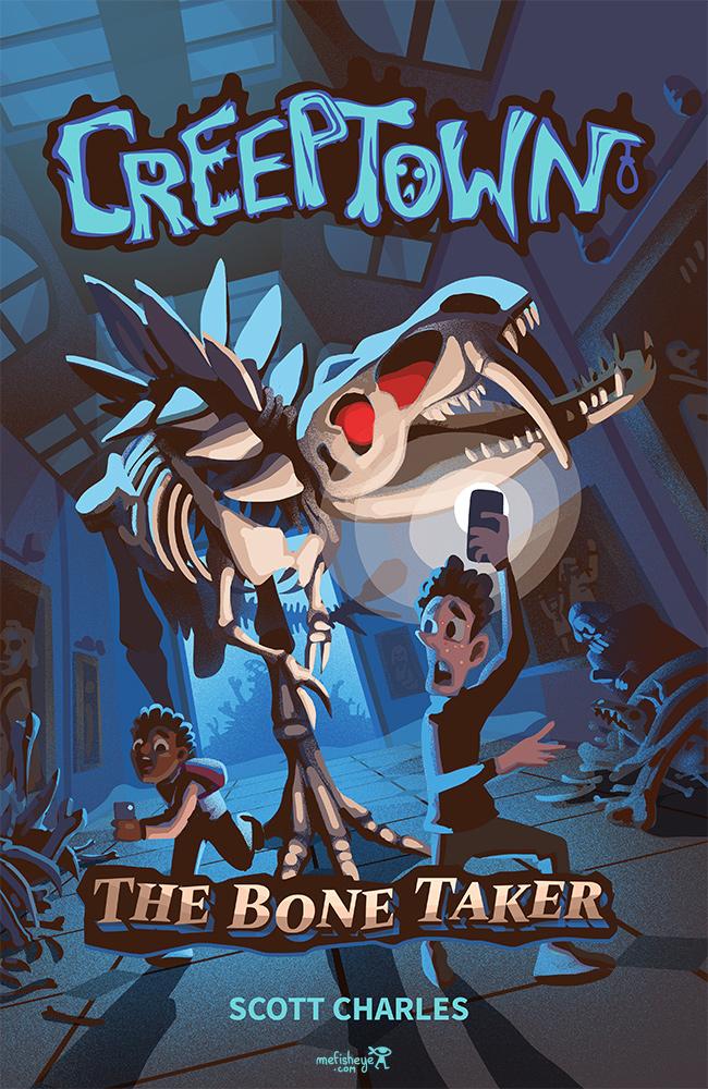 croquis- couleur illustration-couverture-creeptown