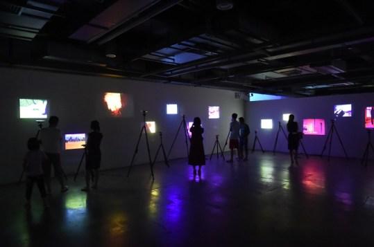 Opening at OCT Art & Design Museum. Image Courtesy Li Zhenhua