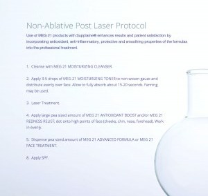 Non-Ablative Post Laser