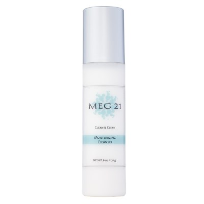 Moisturizing Cleanser on white