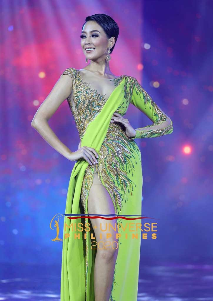 Gowns at the Miss Universe Philippines Kimberly Hankenson