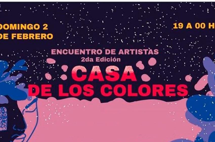 """""""Encuentro de artistas"""" en La Casa de los Colores"""