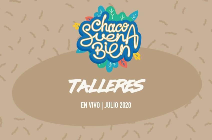 Talleres CHACHO SUENA BIEN: mañana se dicta el próximo